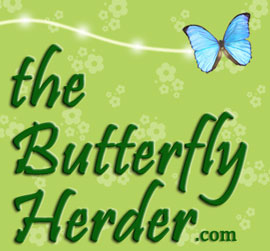 the Butterfly Herder Website Design