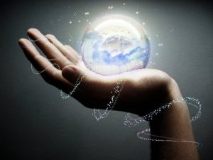 Divine Connection -world-in-your-hands